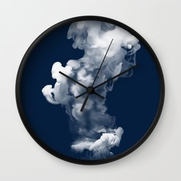 Blue2 Wall Clock