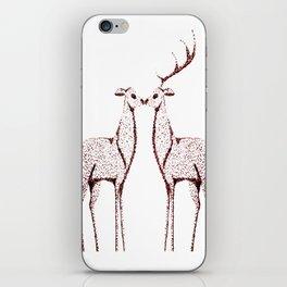 Deers love iPhone Skin