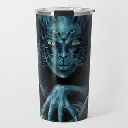 Cat People Travel Mug