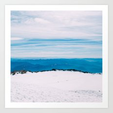 Rainier Summit Art Print