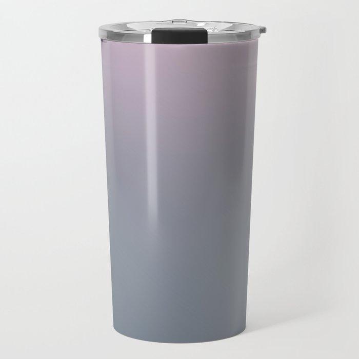 WATER WALL - Minimal Plain Soft Mood Color Blend Prints Travel Mug