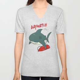 Baywatch  Unisex V-Neck
