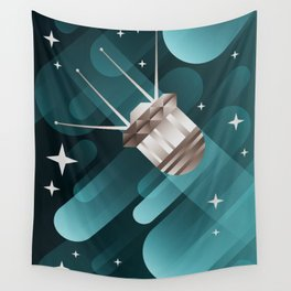 Touching the Moon Wall Tapestry
