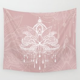 Blush mandala Wall Tapestry