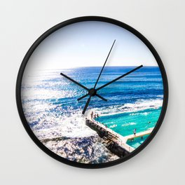 Bondi Icy Dip Wall Clock
