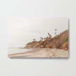 San Diego Coast Metal Print