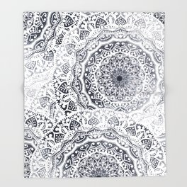 BOHOGIRL MANDALAS Throw Blanket