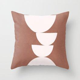 Abstract Balancing Shapes I Throw Pillow