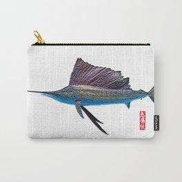 Sailfish Swordfish Sushi Carry-All Pouch