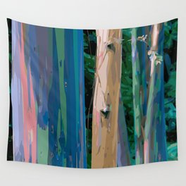 Rainbow Forest Wall Tapestry