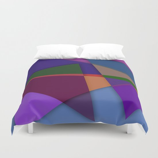 Abstract #425 Duvet Cover