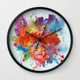 Men at Work Wall Clock