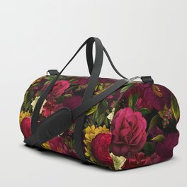Mystical Night Roses Bouquet Duffle Bag