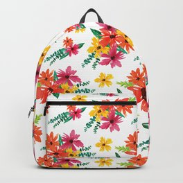 Flower Pattern # 7 Backpack