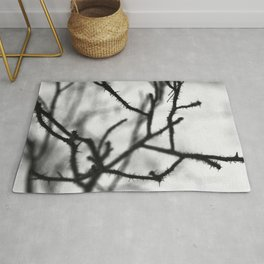 Thorny branches Rug