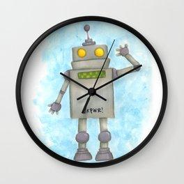 Roboto Wall Clock