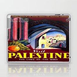 Vintage poster - Palestine Laptop & iPad Skin