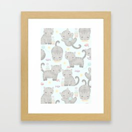 Kitten Cuteness Overload Framed Art Print