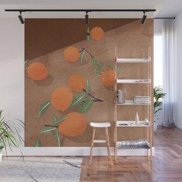 Oranges Wall Mural