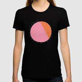 Retro Mod Flowers #4 by Friztin T-shirt
