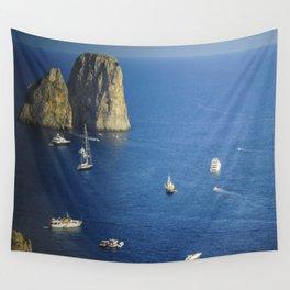 Capri, Amalphi Coast, Italy 7 Wall Tapestry