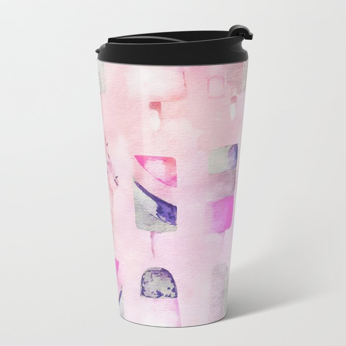 Ice Cream popsicles pastel tone watercolor art Travel Mug
