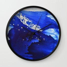 Silverleaf Feather1 Wall Clock