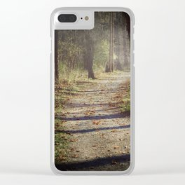 Wicked Woods Clear iPhone Case