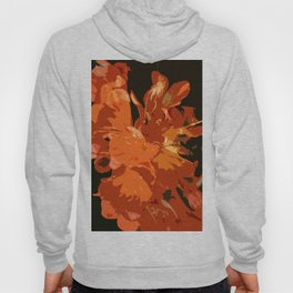 Orange Bush Lily Hoody