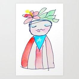 Puerto Rican Juana Art Print