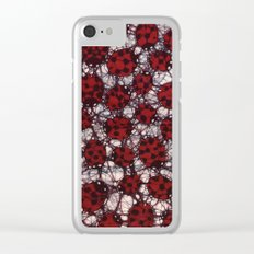 Ladybug Batik Clear iPhone Case