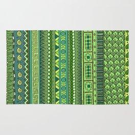 Yzor pattern 009 green-blue summer Rug