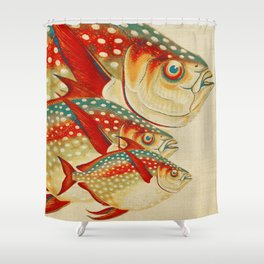 Fish Classic Designs 1 Shower Curtain