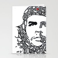 che Stationery Cards featuring Che by Rucifer