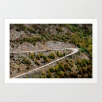 road Art Prints featuring Road by PhotoStories