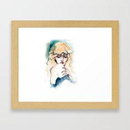 November mood Framed Art Print
