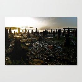 Abandoned Oregon Coast Canvas Print