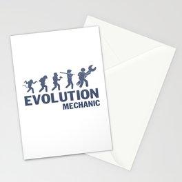 Evolution - Mechanic Stationery Cards