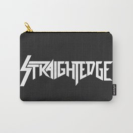 Straight Edge Metal Logo Carry-All Pouch