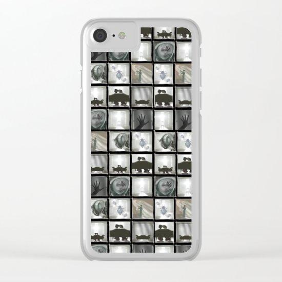 Metamorphosis Clear iPhone Case