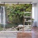 lime green waterfall by eightsixfourhundred