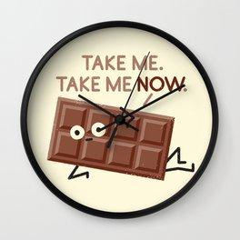 Sweet Talk Wall Clock