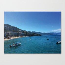 Puerto Vallarta Beach 1 Canvas Print