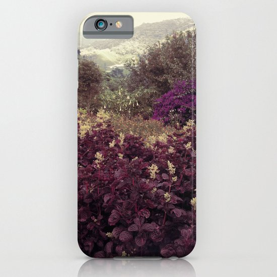Highlands Flowers iPhone & iPod Case