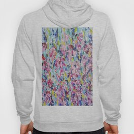 Abstract floral painting 2 Hoody