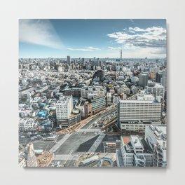 Tokyo skytree skyline in Japan Metal Print