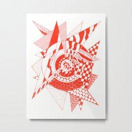Ember Metal Print