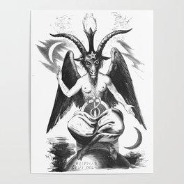 Baphomet - Satanic Church Poster