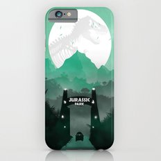 Jurassic Park Inspired Minimalist Print  iPhone 6s Slim Case
