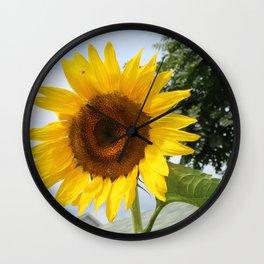 une seule fleur Wall Clock